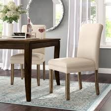 romeo upholstered dining chairs set of 2