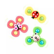 Set 3 đồ chơi con quay spinner hình côn trùng vui nhộn cho bé - Đồ chơi mô  hình bay, diều & Chong chóng