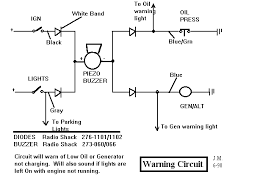 speedy jim s home page aircooled electrical hints audible warning circuit for oil pressure generator lights left on