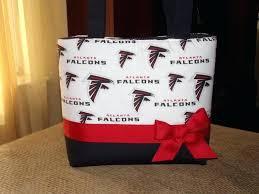image 0 atlanta falcons purse clear