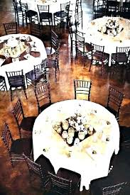 inch round table seats how many burlap tablecloth for dining 60 seating