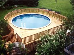 pool decks for above ground pools round above ground pool decks gallery best pool deck design