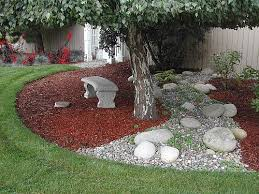 Landscape Rock Design Best Interior Decorating Ideas BACKYARD