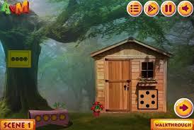 Wooden House Escape Game Walkthrough Forest Wooden House Escape Avm Games Game NEG 24