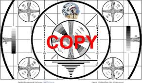 Indian Head Test Pattern Custom Chuck Pharis Web Page The Indian Head Test Pattern Is For Sale
