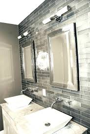 bathroom gray subway tile. Grey Subway Tile Bathroom Gray Traditional With Style .