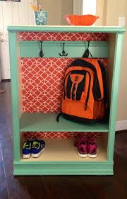 Diy Kids Coat Rack DIY Back to school backpackcoat storage Made from an inexpensive 76