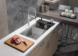 Deep Double Kitchen Sink Tags  Contemporary American Standard Deep Bowl Kitchen Sink