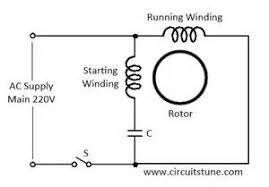 single phase capacitor start run motor wiring diagram images ceiling fan wiring diagram capacitor connection