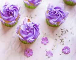 Lavender Cupcakes With Buttercream Frosting Delicious Everyday