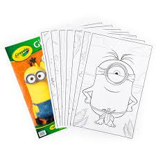 Small Picture Amazoncom Crayola Giant Color Pages Minions Toys Games