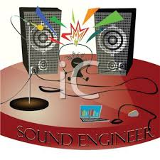 sound system clipart. cute little kid on a stage with speakers and wires sound engineer text - royalty free clip art picture system clipart e