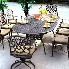 round outdoor table setting person outdoor dining set table chairs and umbrella sets piece outdoor setting