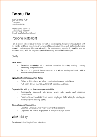 Resume Template Free Nz Cv In New Zealand Format Immigration Free