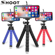 SHOOT <b>Mini Flexible Sponge</b> Octopus Tripod for iPhone Samsung ...