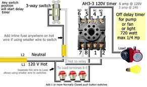 how to wire ah timer delay timer push button