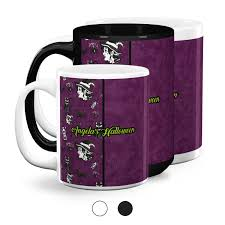 Read more coffee mugs are available in both 11 ounce and 15 ounce sizes. Witches On Halloween Coffee Mugs Personalized Youcustomizeit