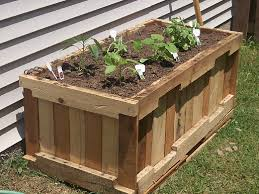 2 diy pallet container garden build pallet furniture