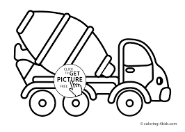 Dump Truck Coloring Pages Free With Unique Wallpaper Printable