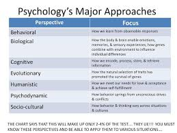 Psychologys Big Issues Approaches Ppt Download