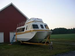 Small Picture 1973 Land and Sea Fiberglass hull houseboat for sale at on 1134 32