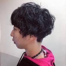 マッシュスタイルに刈り上げパーマおしゃれなヘアスタイルluck鎌倉