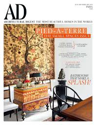 Architectural Digest Design Show India Ad January February Issue 2018 Architectural Digest India