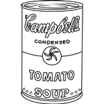 Small Picture Andy Warhol Coloring Pages