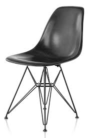 eames molded chair.