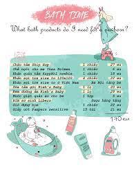 Danh sách đồ sơ sinh chuẩn bị cho mẹ và bé