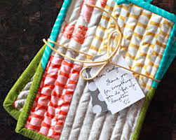Easy Gifts: Quilted Potholders &  Adamdwight.com