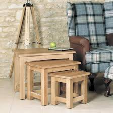 mobel solid oak console. Mobel Oak Console Table. Nest Of 3 Coffee Tables Table W Solid T