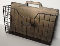 wall mounted office. Antique And Vintage Metal Single Wall Mounted Office File Organizer Ideas