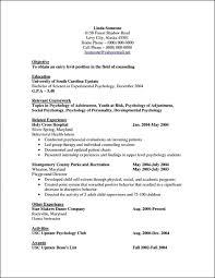 Attractive Psychology Undergraduate Resume Sample Motif