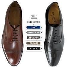 Dress Shoes Color Chart