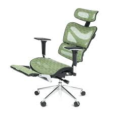 desk chair with footrest leather reclining office chair with footrest