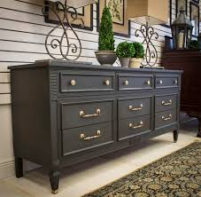 black bedroom furniture ideas. graphite hollywood regency style dresser by portilladesign on etsy black bedroom furniture ideas l