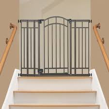 Gate For Stairs Best Baby Gates For Top Of Stairs Bearded Dad