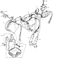 1975 honda cb500t ignition coil parts best oem ignition coil parts wiring diagrams