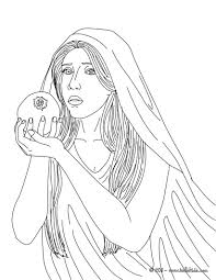 Goddess Aphrodite Coloring Pages Hellokidscom