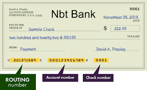 Nbt Bank - search routing numbers, addresses and phones of branches