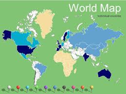 Powerpoint World World Maps Vector Editable Updated 2017