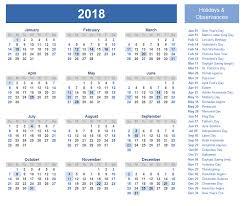printable calanders calendars 2018 printable with holiday printable calendars