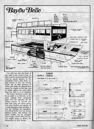 houseboat plans houseboat ideas and tiny homes houseboat plans 1
