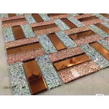 glass mosaic tile backsplash purple and gold mix mirror wall tiles kitchen design crystal bathroom floor tile purple kitchen backsplash tiles