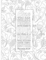 Inspiring Words Coloring Book 30 Verses From The Bible You Can