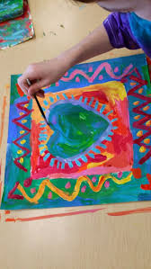 My ALL TIME FAVORITE artist to teach is... PETER MAX! I love  Art Lesson  ...