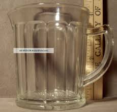 vintage small clear glass pitcher designs