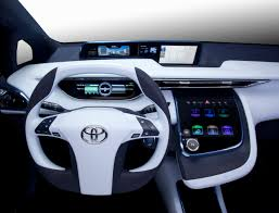 Toyota hydrogen fuel cell car coming in 2015 - Photos