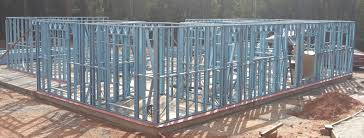Metal Framed Homes House Construction Of Steel Kit Homes